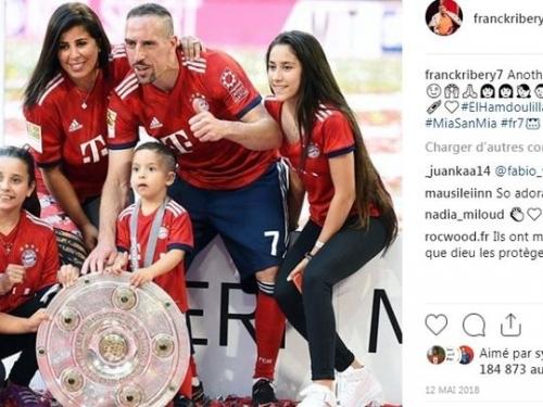 Franck Ribéry : sa femme Wahiba enceinte de leur cinquième enfant