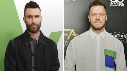Imagine Dragons vs Maroon 5: le match des groupes pop-rock