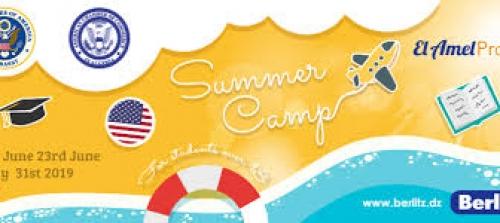 12 éme édition du «camp d'été El Amel» du centre Berlitz