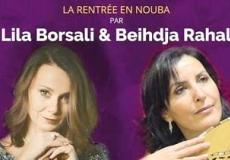 Beihdja Rahal et Lila Borsali, un duo de charme en concert le 14 septembre