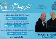 Mouss&Hakim du groupe Zebda en concert